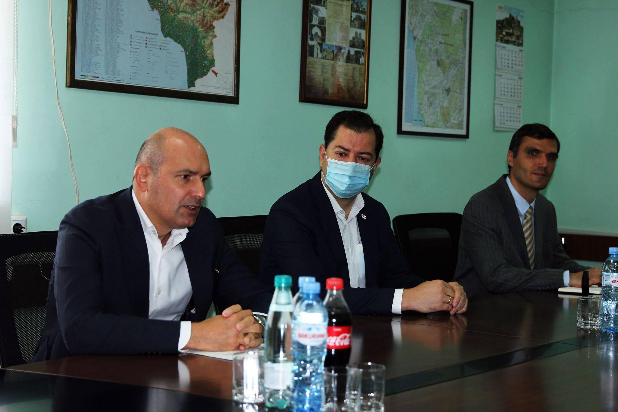 შეხვედრა საქართველოში UNDP-ის ხელმძღვანელ -  ლუიზა ვინტონთან
